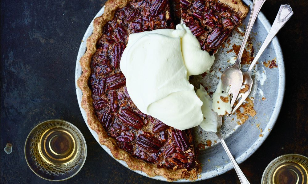 This filling is swirled with toasty brown butter and studded with rich and chewy dates cooked in espresso, which helps cut the sweetness you expect in most pecan pies. The recipe was adapted from the Soframiz cookbook by Maura Kilpatrick and Ana Sortun of Sofra bakery in Boston.