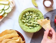 Green Pea and Edamame Hummus