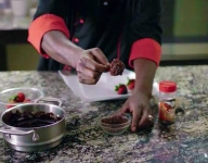 Cooking for a Loved One: Heath Rum Chocolate Covered Strawberries