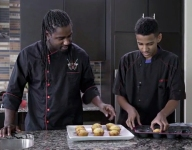 Cooking with Kids: Malcolm's Double Chocolate Chip Muffins