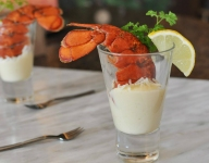 One and Done Lobster Shots