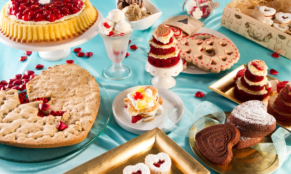 These Valentine's Day recipes from The Food Channel are 33 hand-crafted treats, desserts, dinners and drinks to help you create a romantic and tasty holiday. We have everything from breakfast and brunch to decadent chocolate desserts, or some fun cookie recipes for the family! Whatever you desire, there's a little something for everyone.