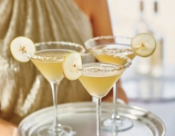 Spicy Pear-tini Cocktail