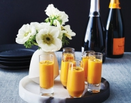 Creamy Carrot Soup Shooters