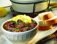 American Lamb Stew with Mashed Potato Crust