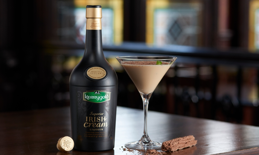 You've had a milkshake, but have you had a milk-flake? This cocktail combinesKerrygold Irish Cream Liqueur, a cream made from the milk of grass-fed cows, with Irish whiskey, schnapps liqueur and a crushed Cadbury Flake Bar on top.