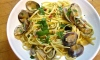 """The flat shape of linguine (""""little tongues,"""" in Italian) provides the perfect vehicle to soak up this scrumptious sauce. Served with a tossed green salad and crunchy Francese bread, the dish makes for a surprisingly easy meal."""