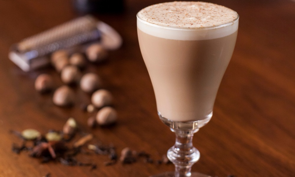 This cocktail is made with Kerrygold Irish Cream Liqueur, a cream made from the milk of grass-fed cows which is, on average, a third creamier than other Irish Cream Liqueurs. Mixed with rum and chai tea, this cocktail is indulgent, creamy and delicious.