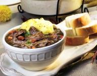Lamb Stew with Mashed Potato Crust