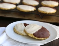 Sugar-Free Black and White Cookies