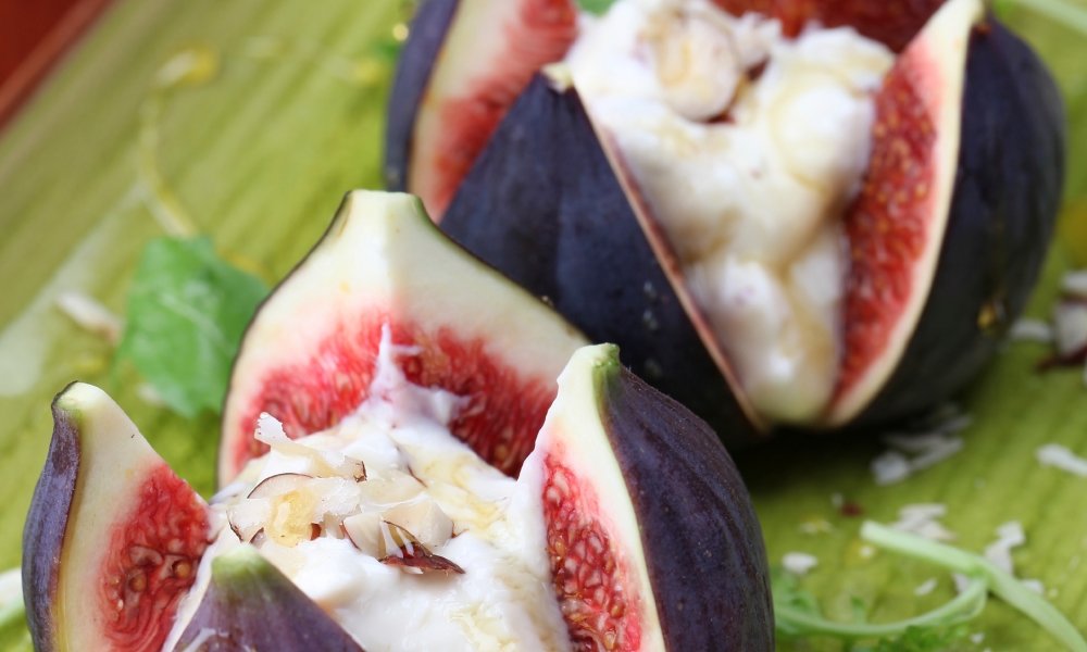 You've never had a decadent bite-sized appetizer like these cream cheese stuffed figs made with honey, black peppercorns, and a ruby port. Your guests are going to think you spent hours on these simple and tasty treats.