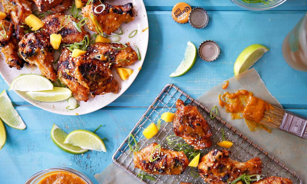 Made with the aromatic and mouthwatering flavors of mango, fish sauce, garlic, ginger, chili and more, these wings are a crowd pleaser.