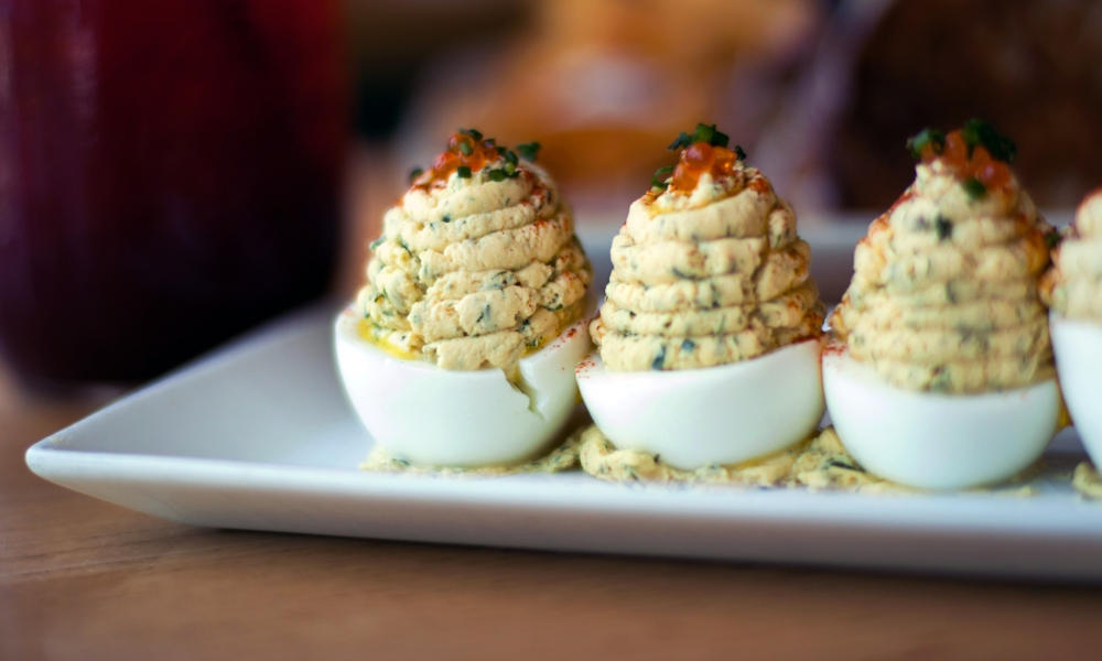 Deviled Eggs by Chef John Kunkel