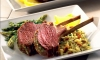On the cusp of Springs arrival, a Grilled Rack of Lamb served with fresh lemon wedges, cilantro, parsley and fresh ginger root is just the ticket for a filling and refreshing meal.