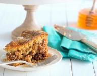 Honey Pecan Swirled Coffee Cake