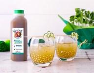Matcha Lemonade Cucumber Cocktail