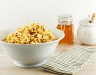 Sweet and Spicy Honey Popcorn