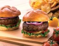 All-American Lamb Burgers