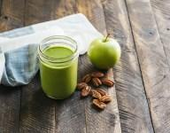 Green Apple Pecan Smoothie