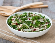 High Protein Onion, Quinoa and Kale Salad