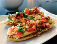 Mollete: Mexican Open-Faced Sandwich