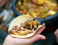 Pork Carnitas Tacos with Mango, Tomatillo and Chipotle Salsa