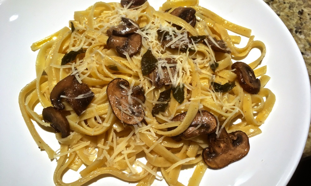 Tagliarini is an egg pasta from Northern Italy, similar to its wider and more famous cousin, tagliatelle (the name comes from the verb tagliare, to cut).