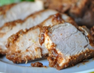 Fig Glazed Pork Tenderloin