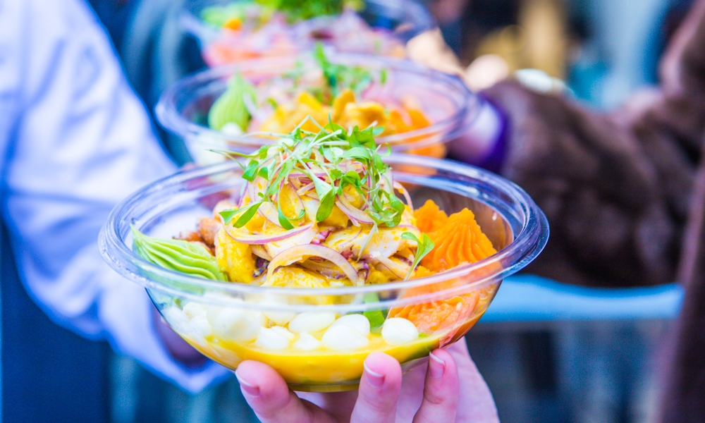 Peruvian Ceviche from Chef Jose Luis Chavez of Mission Ceviche