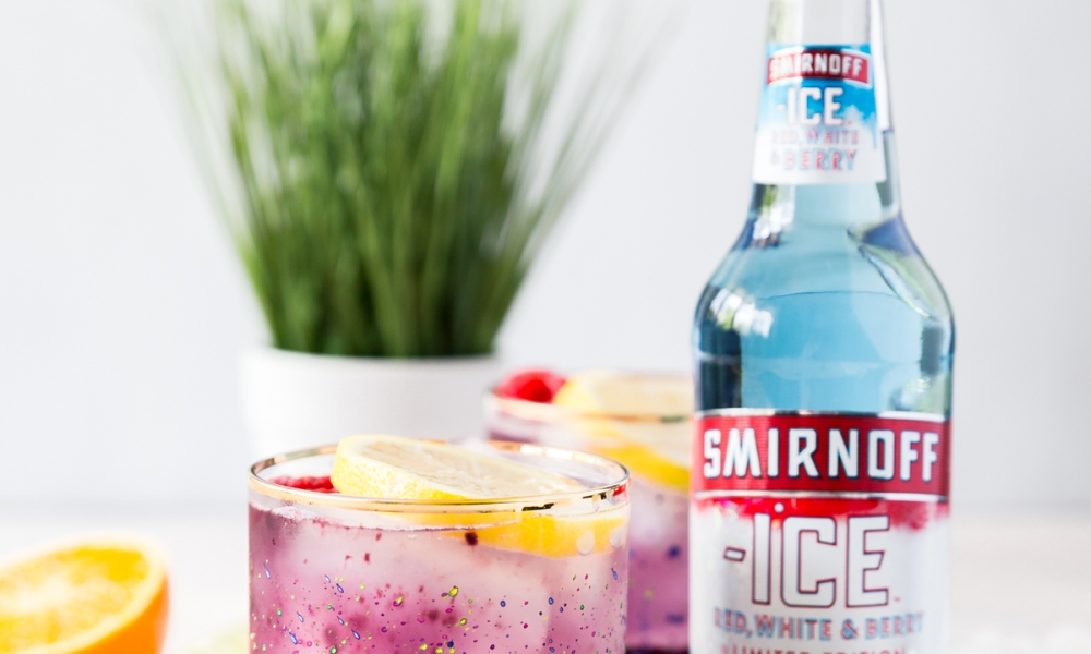 Toast your Memorial Day festivities with two spot-on cocktails made with Smirnoff's limited-edition Red, White & Berry.