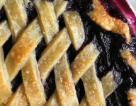 Black & Blue (Berry) Rock & Rye Pie