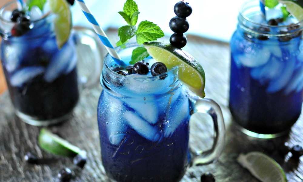 Blueberries are a simple and healthful ingredient that can brighten just about any day – and drink – like this super delicious Blueberry Mojito, which offers us just one of the many marvelous ways to stir the magic of blueberries into the upcoming national holiday!