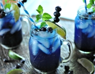 7 Blue Drinks to Help You Cool Off This Summer