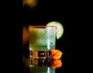 Cucumber and Habañero Chili Margarita