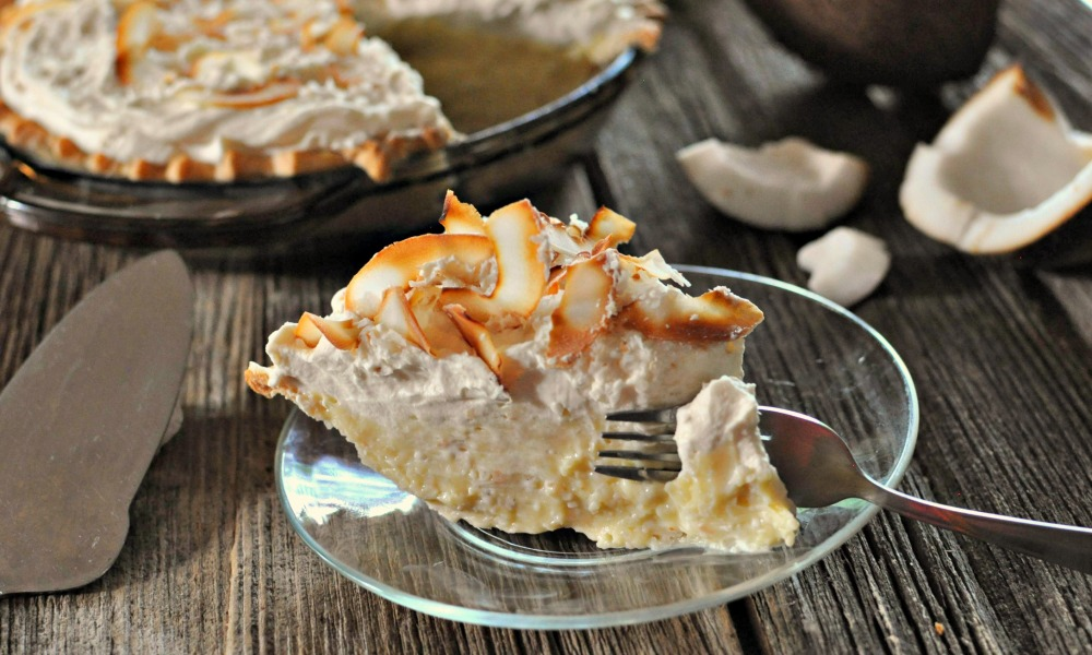 Coconut cream pie by Laura Kurella