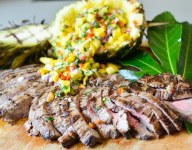 Thai-Marinated Grilled Flank Steak