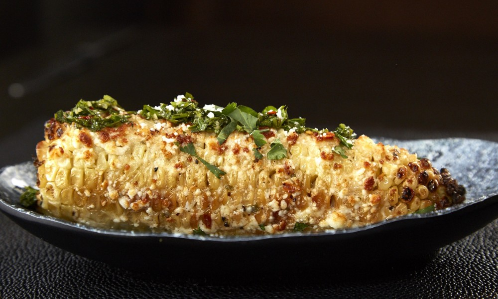 Grilled corn-on-the-cob is a summer staple, but Sedona-based Chef Lisa Dahl is the queen of Loco Elote (grilled Mexican corn) - made with mayonnaise, lemon, garlic, cayenne pepper, cotija cheese, and cilantro.