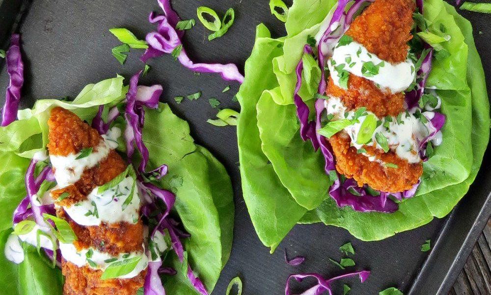 These spicy and savory chicken tacos take the best parts of Nashville Hot Chicken and tacos to make one incredible dish.