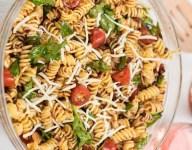 Spicy Italian Pasta Salad