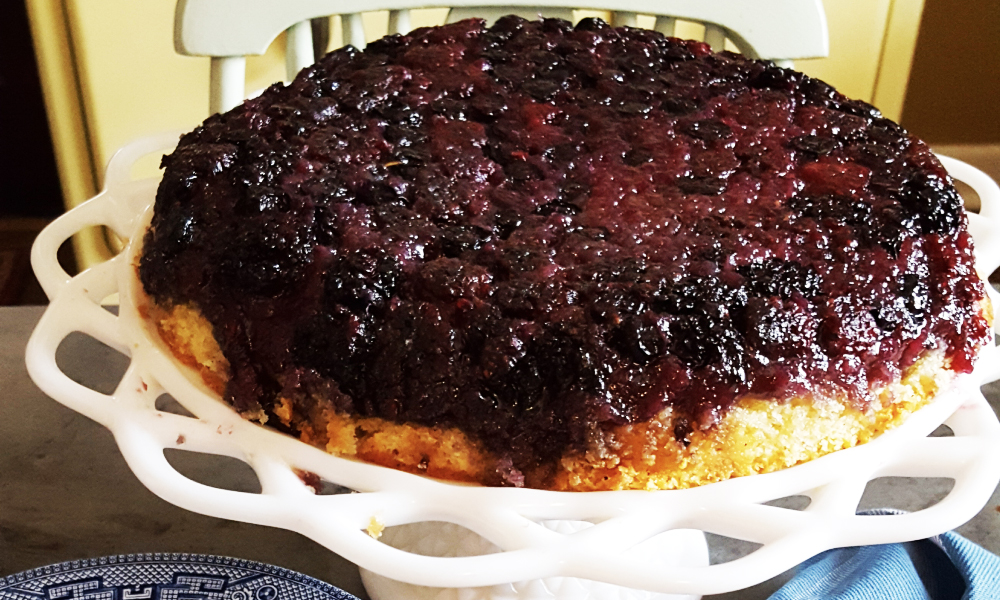 Bungalow Chef Summer Berry Upside-Down Cake