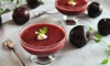 Amazingly nutritious and when fully ripe, extremely delicious, plums can be turned into just about anything, like this oh-so-cool 'n' sweet-to-sip, chilled summer soup!
