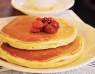 Cherry Pancakes From The White Gull Inn