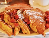 Cherry-Stuffed French Toast