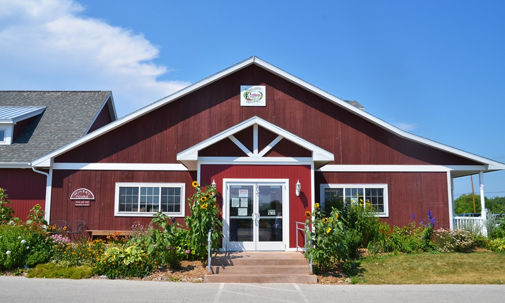 Lautenbach's Orchard Country is where you come to spit cherry seeds and pick a pail of cherries to take home. You can also participate in a wine tasting or check out the market for some of the cherry specialty items. It's a full Door County experience all in one place.