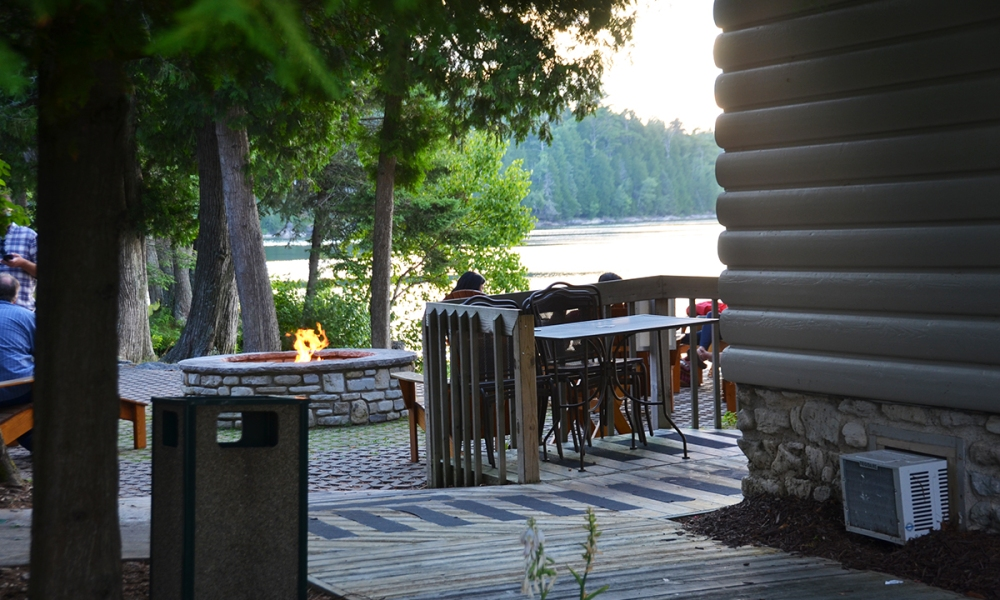 Looking for an all-in-one destination for your visit to Door County, WI? You can't go wrong at Gordon Lodge. Or, just take a night and spend it watching the water from the Top Deck restaurant.