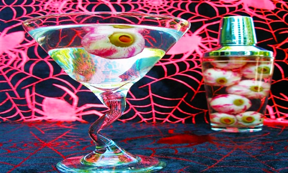 """Halloween Eye Cubes are a crisp and cool, """"Eye"""" appealing addition to your spooky holiday beverages!"""