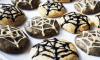 These super easy healthy Halloween Cobweb Cookies are made with rice malt syrup so they're low Glycemic Index and contain cinnamon for even more blood-sugar stabilization. Decorate with black and hulled tahini for the perfect spooky treat!