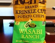 Kettle Brand Krinkle Cut Potato Chips: Food Channel Find