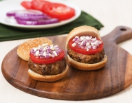 Lamb and Onion Feta Sliders