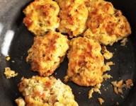 Skillet Veggie Drop Biscuits